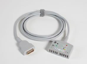 EKG-Stammkabel mit MAC-Stecker