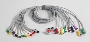 EKG-Elektrodenleitungen mit Krokodilklemme